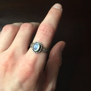Jewelry - Sterling Silver Moonstone Ring